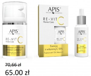 Apis- ZESTAW RE-VIT C HOME CARE