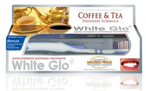 White Glo Coffee and Tea Drinkers Formula - Pasta usuwająca osad z kawy i herbaty 100 ml