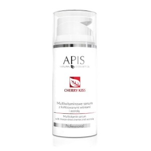 APIS - CHERRY KISS Multiwitaminowe serum z liofilizowanymi wiśniami i acerolą, 100 ml