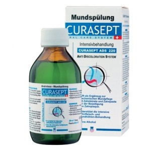 CURASEPT ADS 220 PŁYN 200 ML 0,20% CHX MED