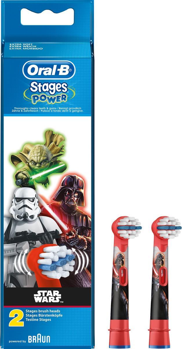 Końcówki Do Szczoteczki Dla Dzieci Oral B Motyw Star Wars Gwiezdne